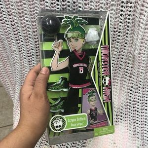 Monster High DEUCE GORGON Scream Uniform 2010